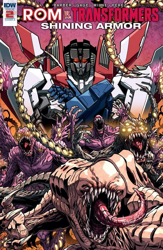 ROM vs Transformers - Shining Armor #1-5 (2017) Complete